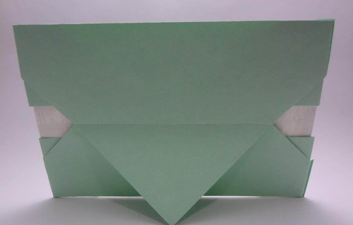 porta retrato de origami p foto10x15 art omura elo7. Black Bedroom Furniture Sets. Home Design Ideas
