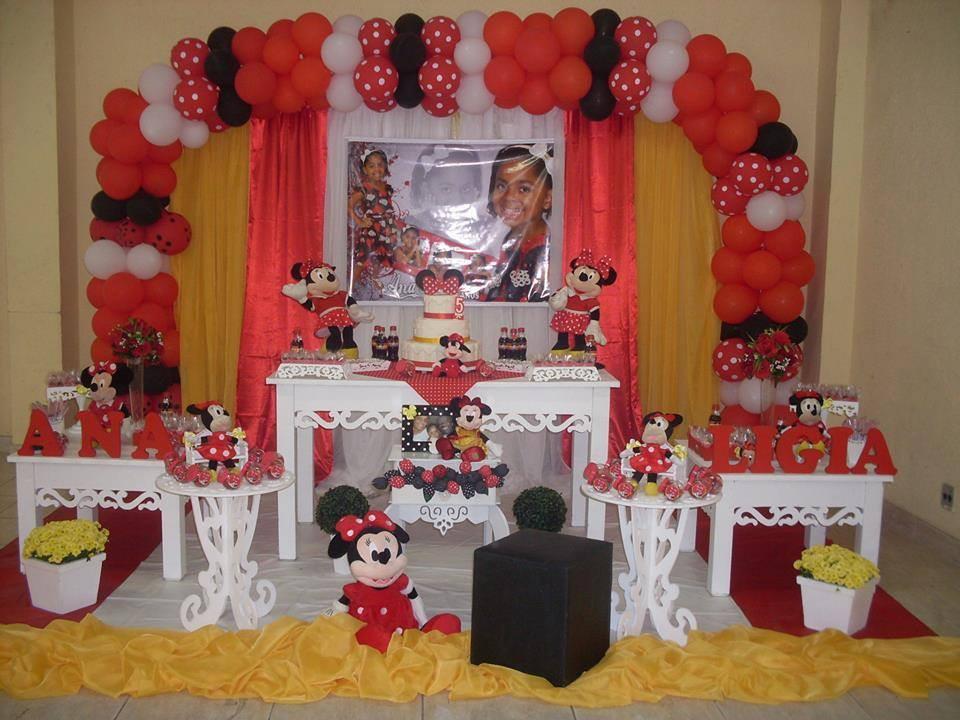 minnie vermelha festa da minnie vermelha decoracao provencal minnie