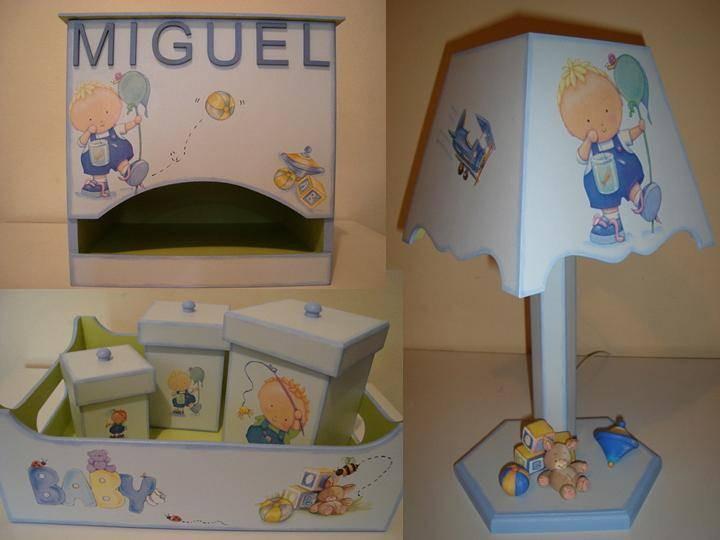 Decoração de quarto de bebê, menino!  PATHY BISCUIT  Elo7