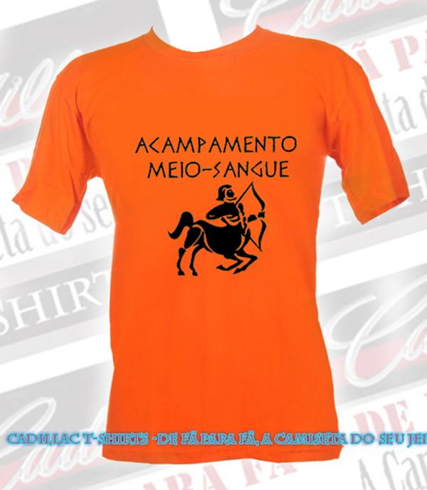 camiseta acampamento meio sangue cadillac tshirts elo7