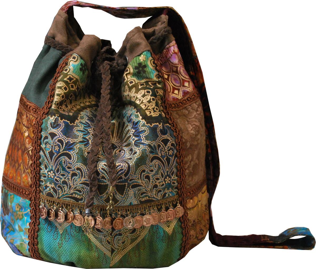 Bolsa De Tecido Hippie : Hippie chic dominando nas bolsas cintos e ?culos