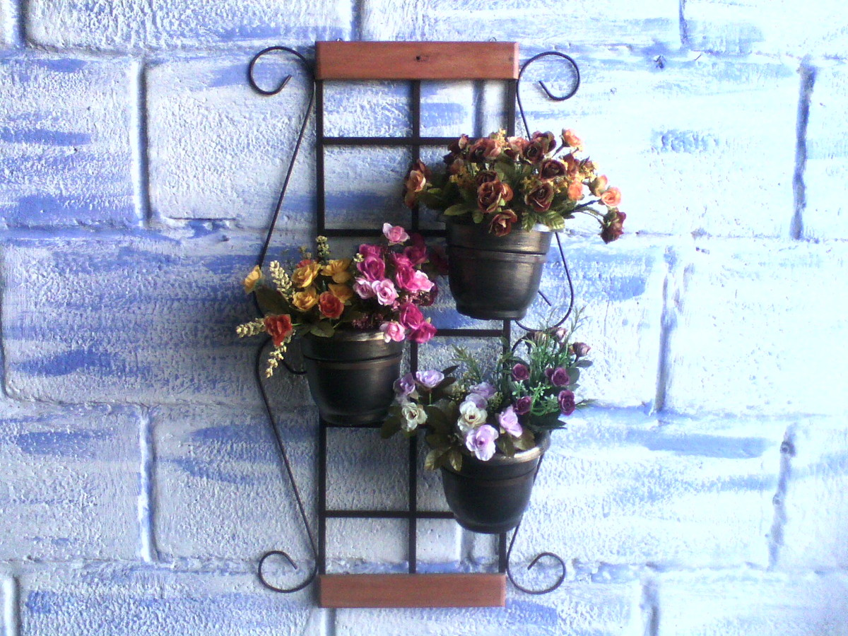 trelica jardim vertical:para jardim vertical com vasos vaso trelica para jardim vertical com