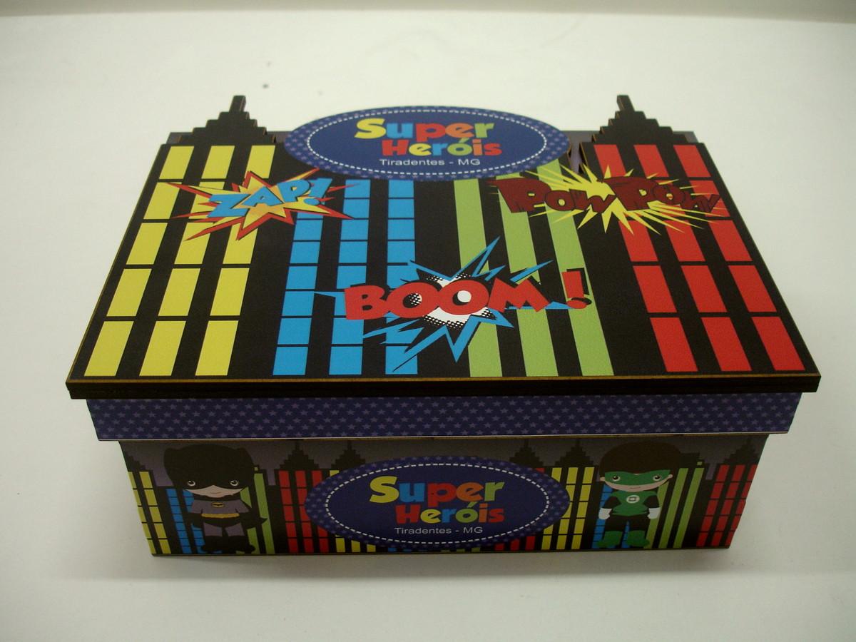 caixa divertida super herois em mdf caixa caixa divertida super herois  #AA2F21 1200x900
