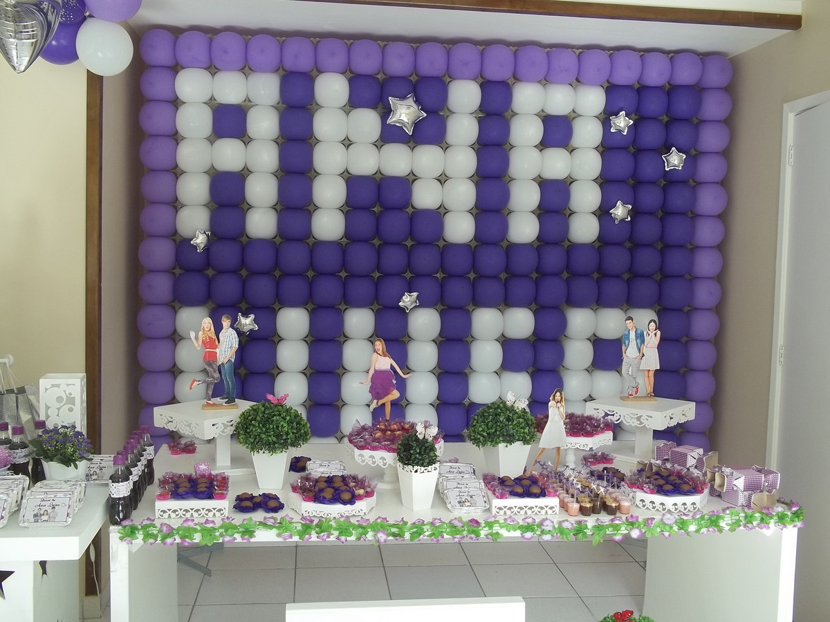 decoracao festa violeta: violeta decoracao da violeta festa da violeta decoracao da violeta