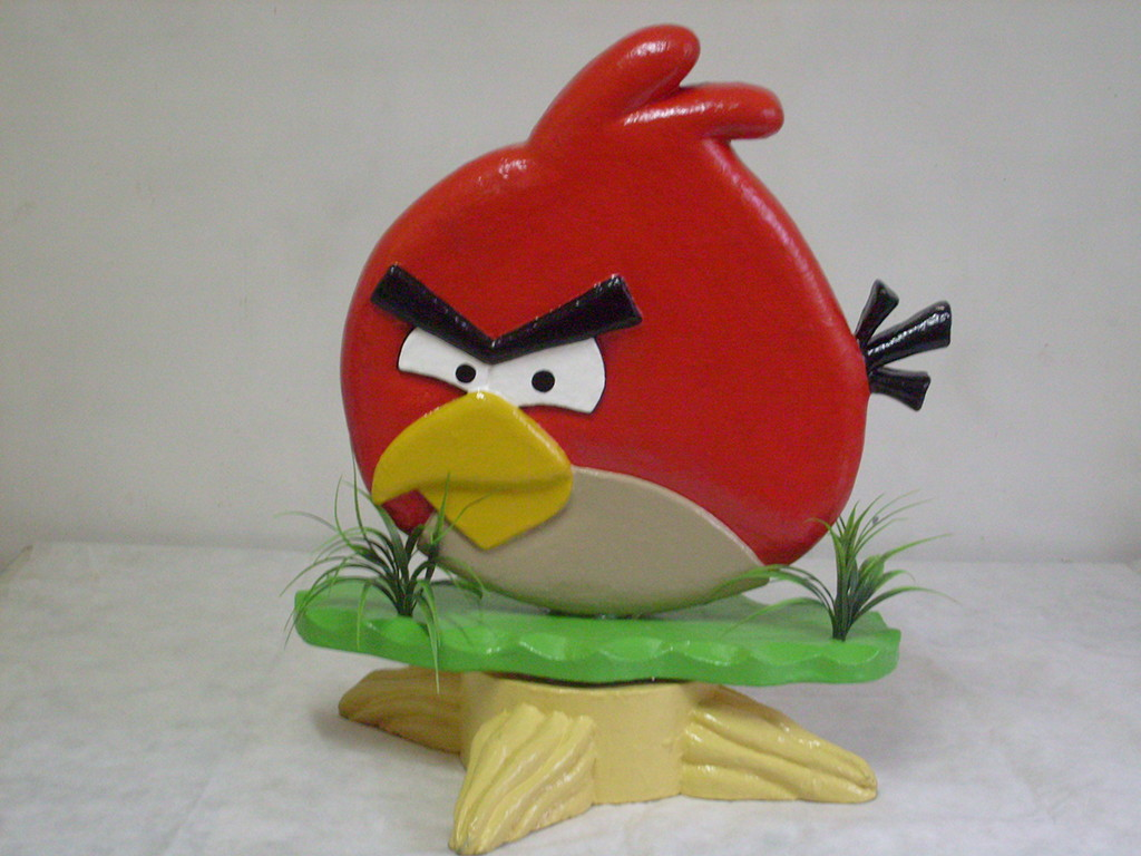 Personagem Angry Birds: ANGRY BIRDS - Personagem Com Movimento