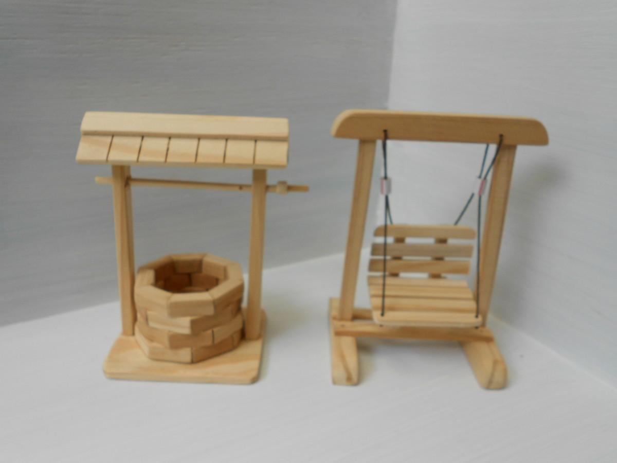 balanco poco de madeira kit miniatura poco e balanco poco de madeira  #49270E 1200x900