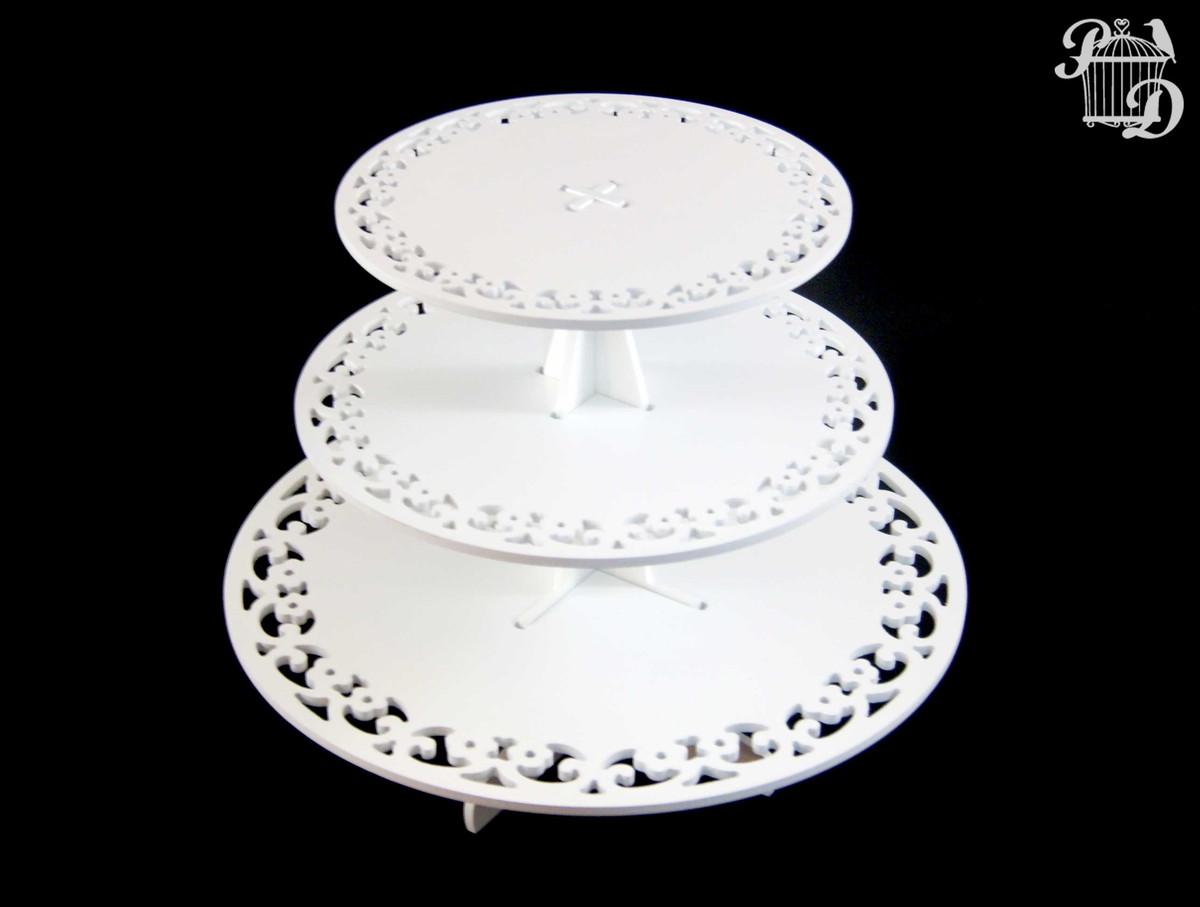 prato bolo cupcake vazado 3 andares boleiro prato bolo cupcake vazado  #000001 1200x907