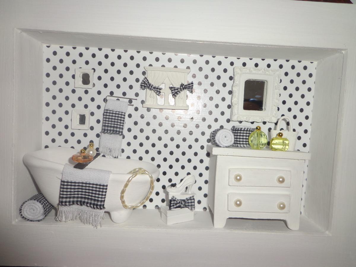 banheiro em branco e preto quadro quadro banheiro em branco e preto  #796C4C 1200x900 Banheiro Branco Com Detalhes Em Preto