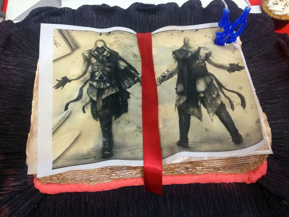 Cake Design Assassin S Creed : Assassins Creed Cake Cake Ideas and Designs