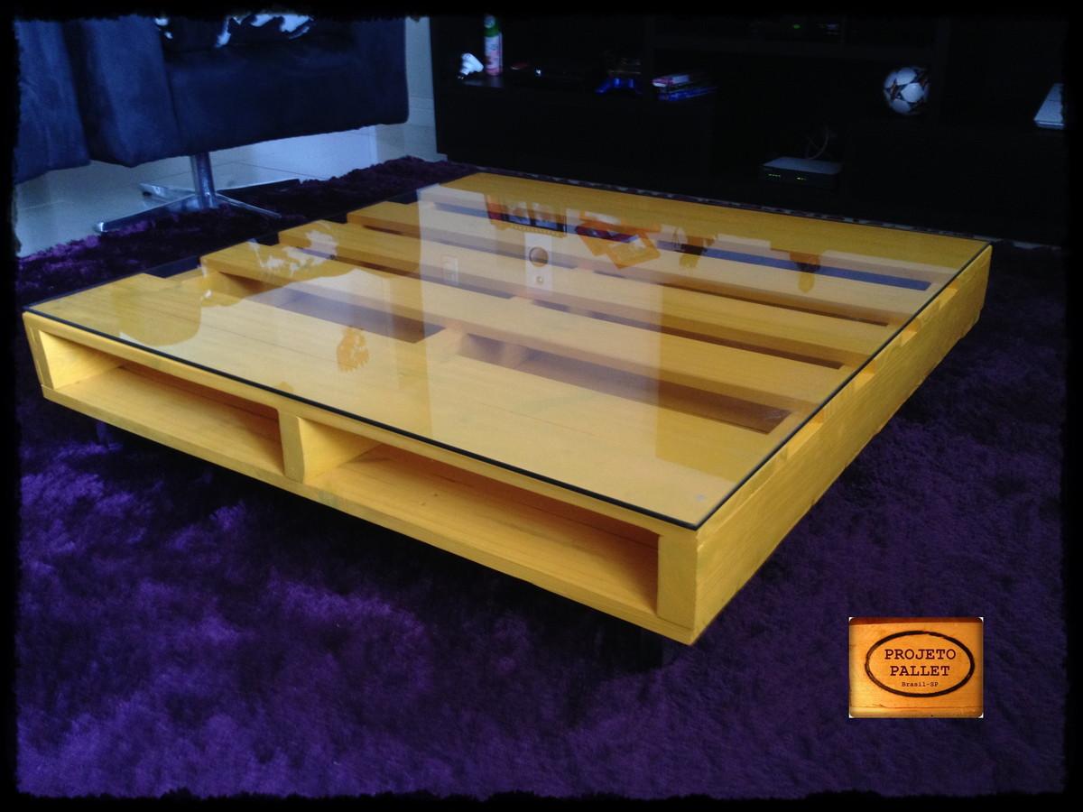 Mesa em pallet mell projeto pallet elo7 for Mesa de pallet