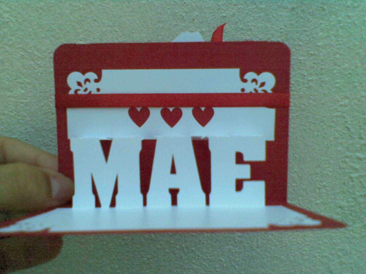 El Armario Que Plancha ~ Cart u00e3o frases em 3D Ana handmade Elo7
