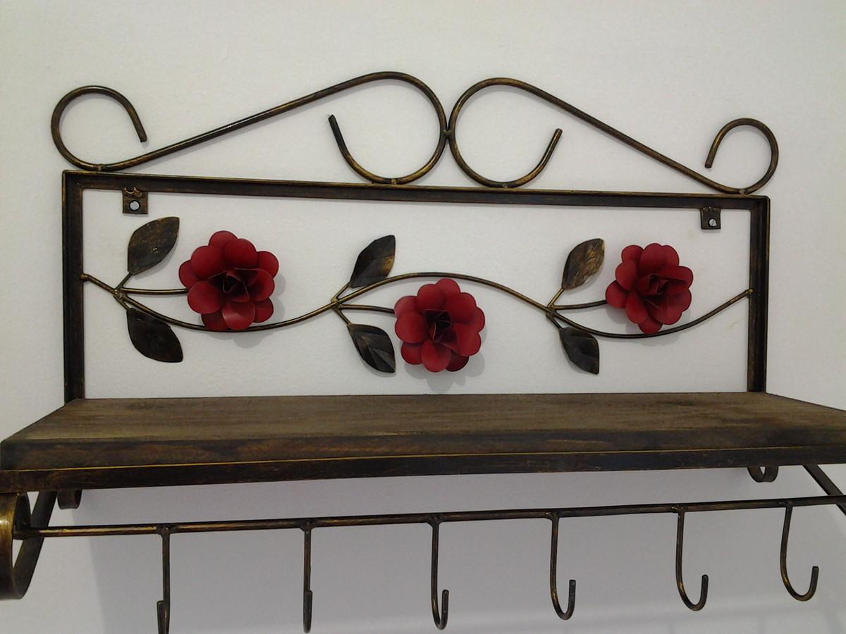 aparador floral aparador de ferro aparador floral paneleiro de ferro  #5F3529 1200x900