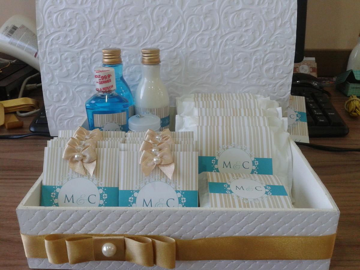 lembranca de casamento kit toalete dourado e tiffany kit banheiro #1D4C6E 1200x900 Acessorios Para Banheiro Dourado