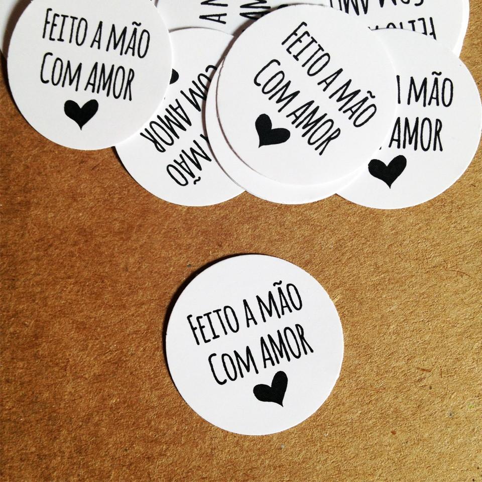 Como Fala Aparador Em Ingles ~ Mini Adesivo Feito a M u00e3o com Amor no Elo7 Louise Machado Designs (441842)