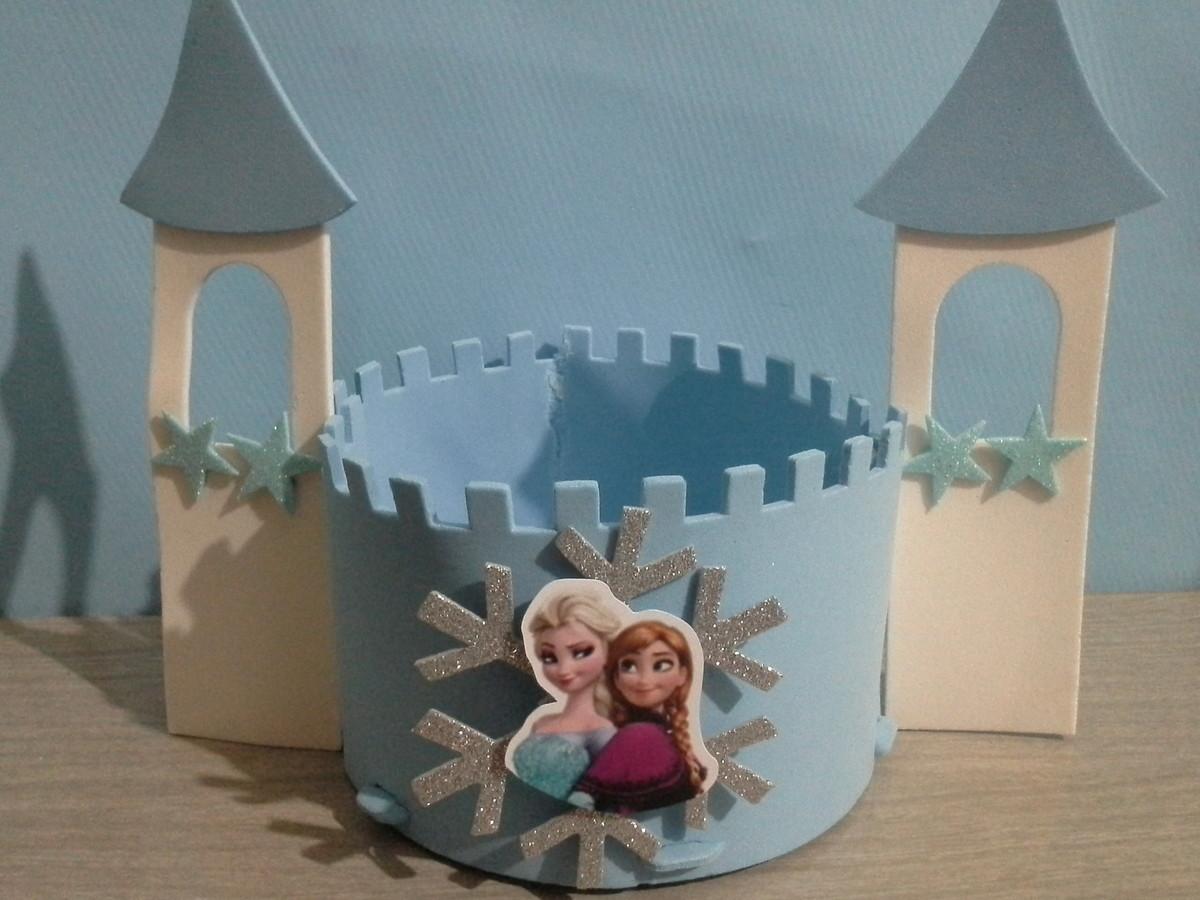 Aniversário e Festas > Centro de Mesa > Enfeite de mesa Frozen Disney