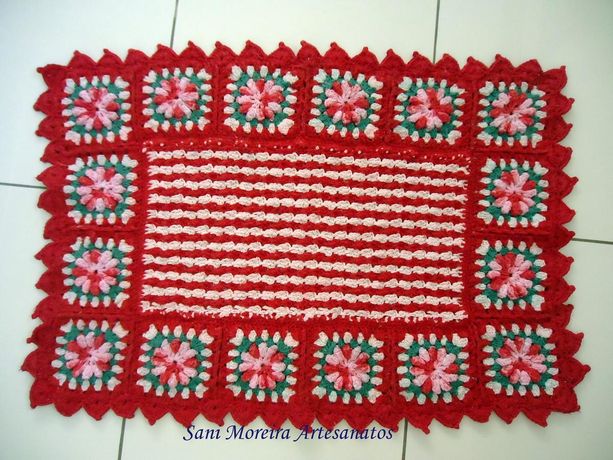 Arte Brasil Tapete Cinderela : tapete-em-croche-primavera-tapete-vermelho.jpg