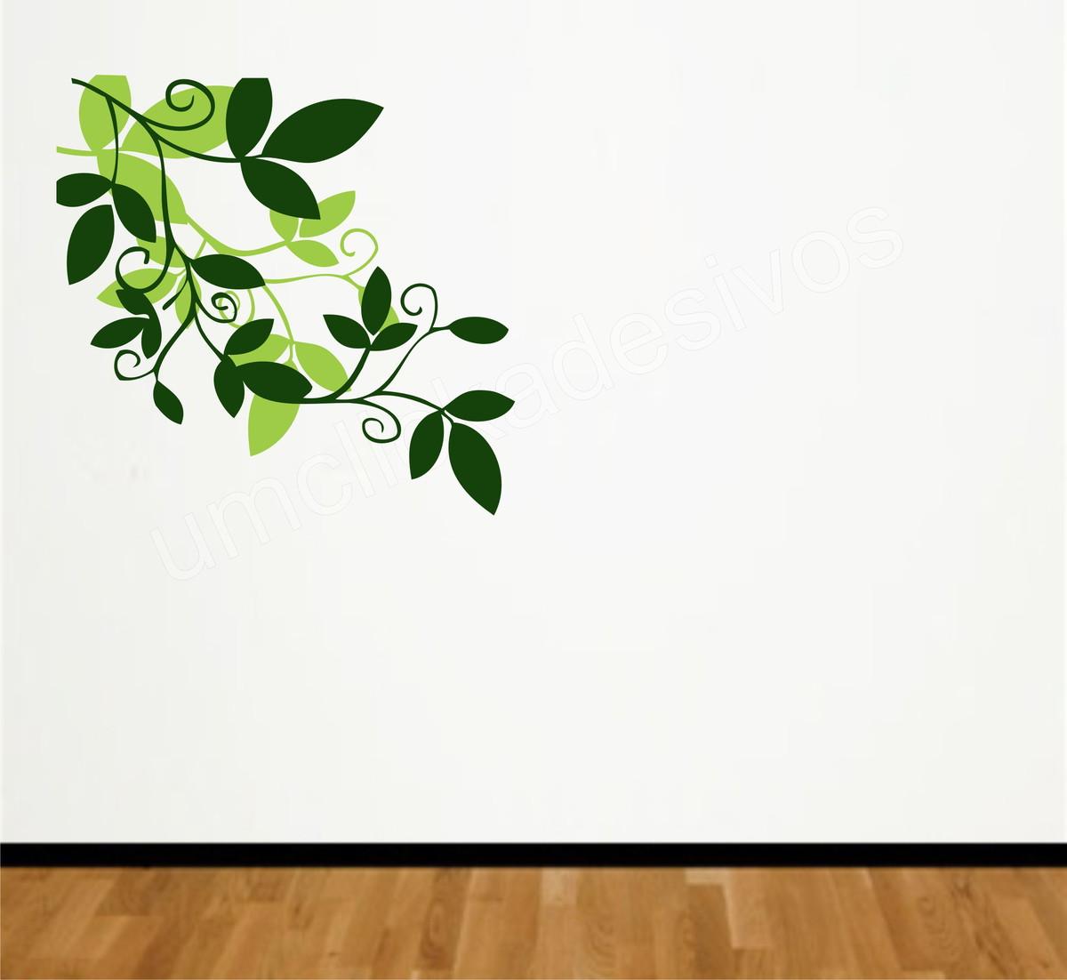 Adesivo Folhas Decorativas No Elo7