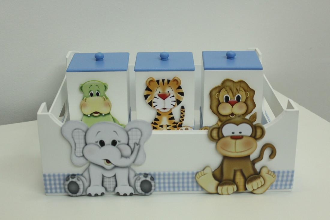 Enfeite De Kit ~ Kit safari Kelly Baby Decor Elo7