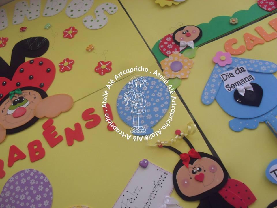 Kit Decoracao Sala De Aula ~ kit decoracao sala de aulakit sala de aula joaninhas sala de aula kit