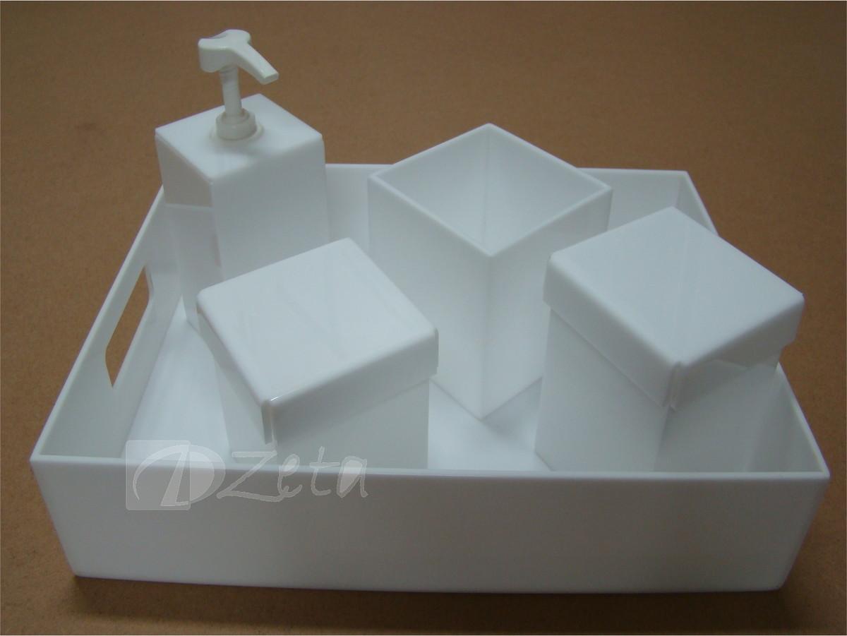 kit higiene porta liquido acrilico br potes acrilico kit higiene porta  #624D35 1200 901