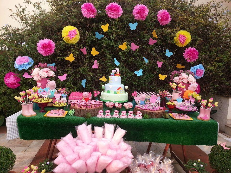 jardim da peppa decoracao personalizada decoracao infantil jardim da