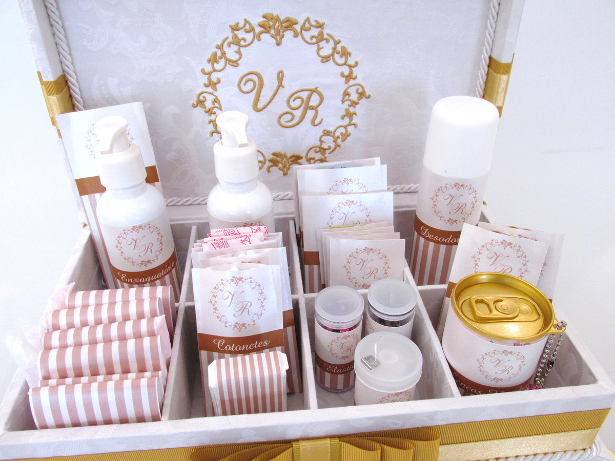 kit decoracao casamento:Início > Casamento > Decoração > Caixa Kit Banheiro para casamento