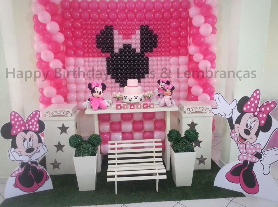 Decoração Minnie  HB Festas e Lembranças  Elo7