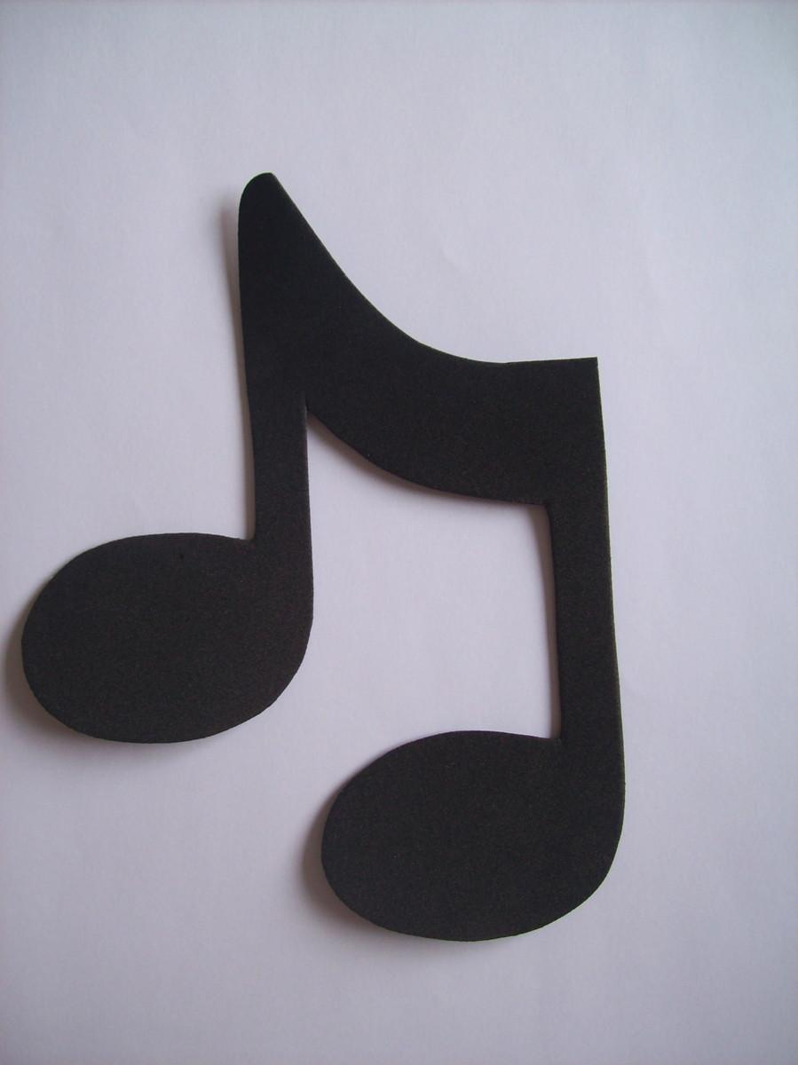 decoracao festa notas musicais:notas musicais eva notas musicais instrumentos notas musicais notas