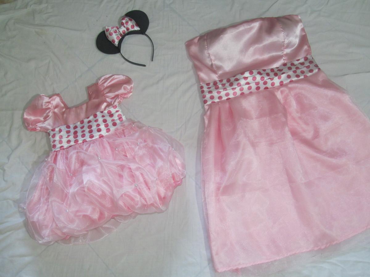 -da-minnie-rosa-mae-e-filha vestido-mae-e-filha-da-minnie-rosa-mae ...