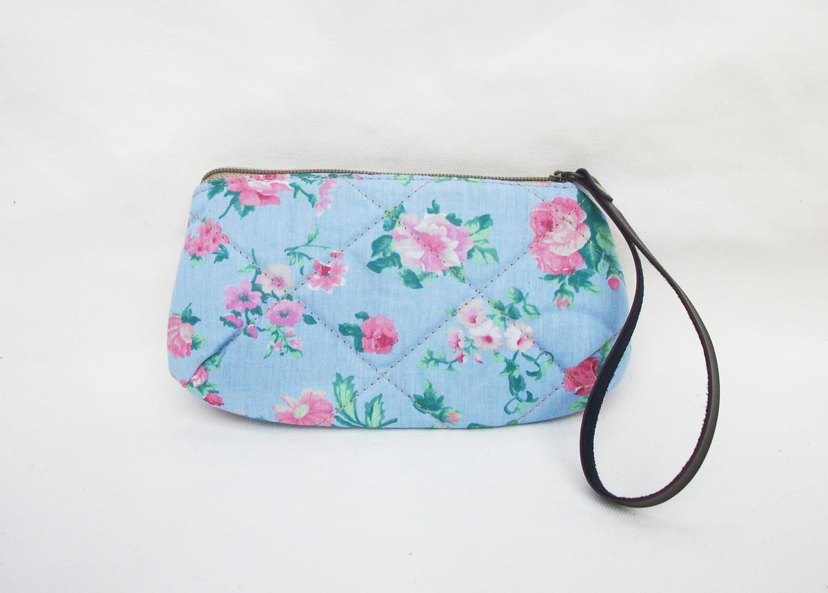 Bolsa De Mão Para Celular : Bolsa de m?o big flowers manuka elo
