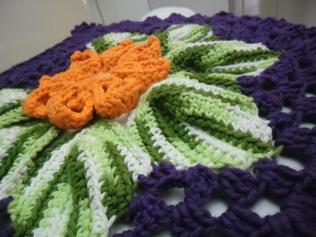 Conjunto banheiro roxo  FF Art em crochê  Elo7 -> Decoracao De Banheiro Roxo