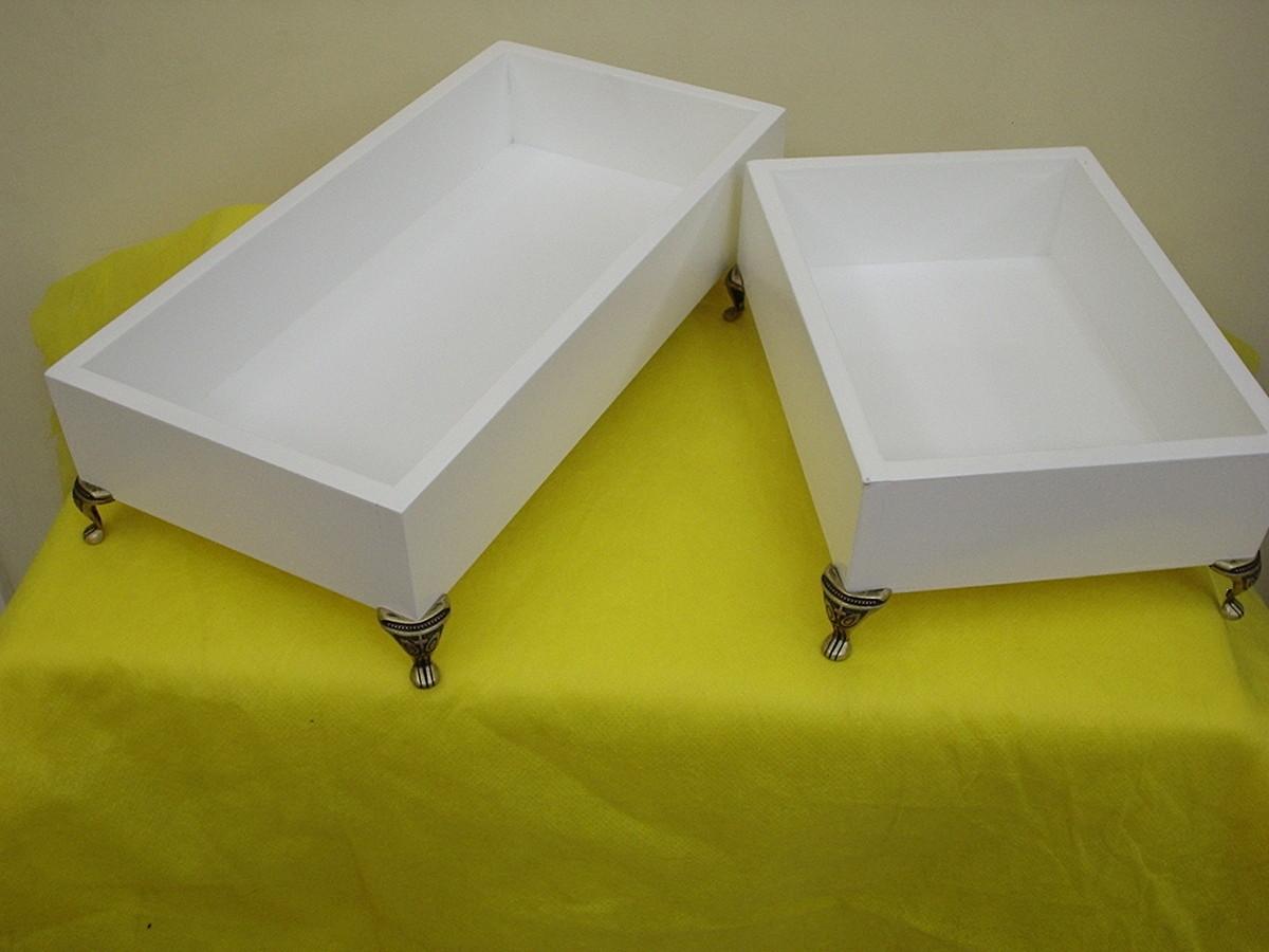 bandejas de MDF Lavabos/Toialettes Arte Sonhos e Cia Elo7 #81790F 1200x900