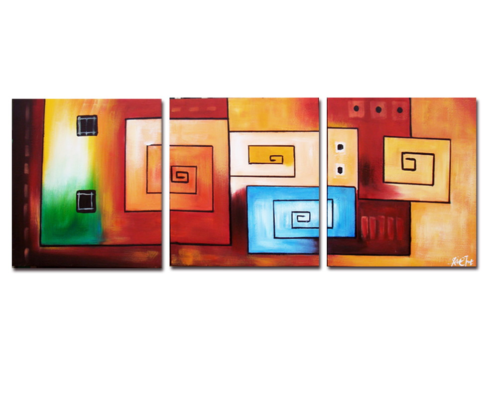 Painel abstrato
