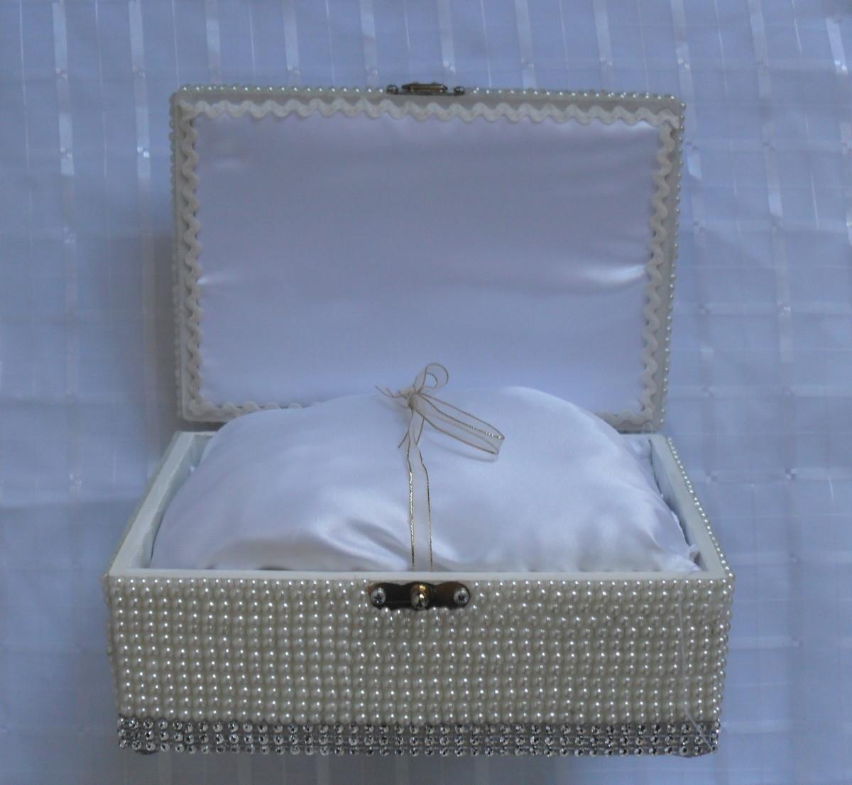 medio de mdf com perolas caixa decorada bau medio de mdf com perolas  #445A87 1200x1106