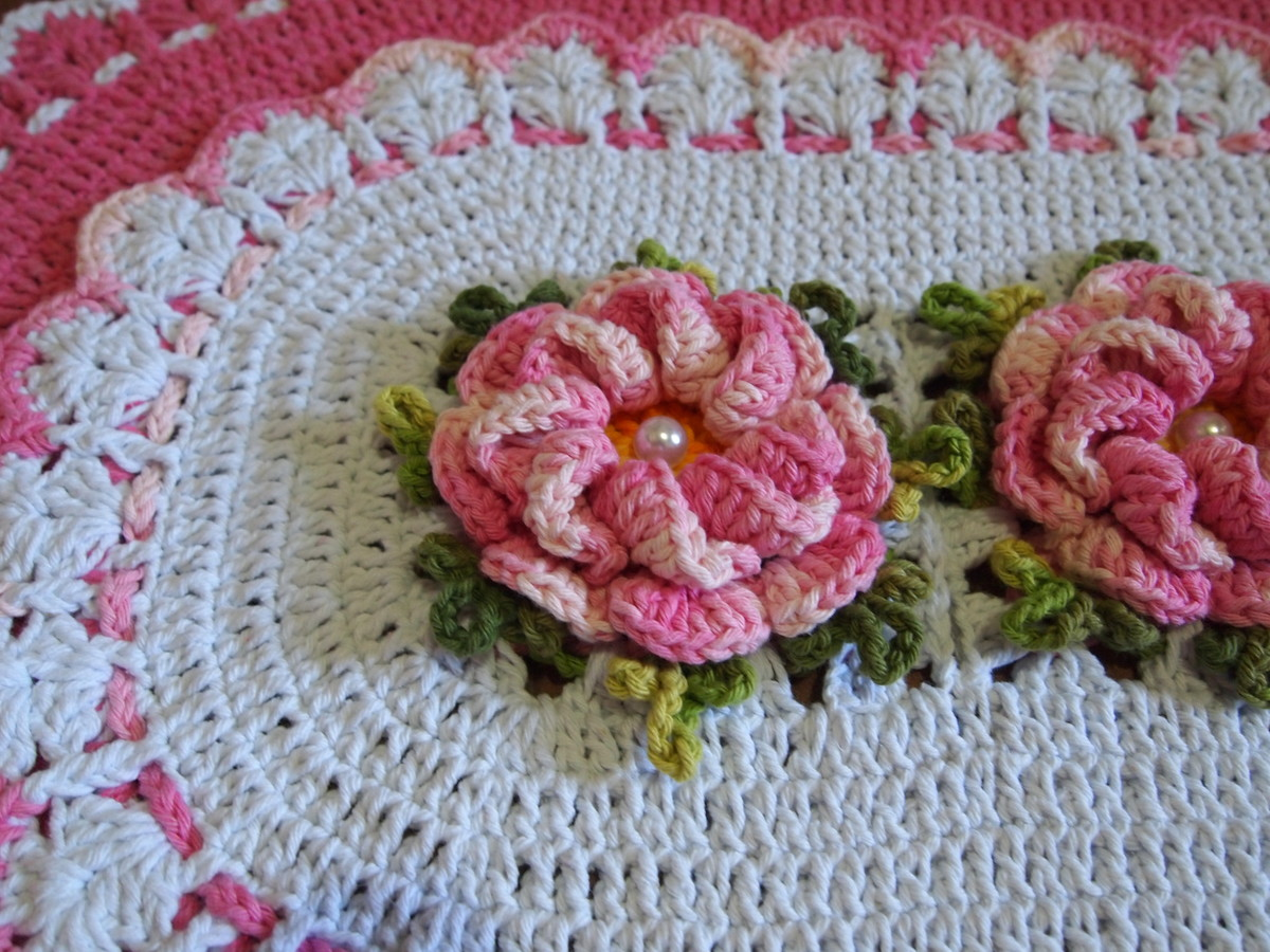 banheiro rosa e branco croche jogo de banheiro rosa e branco banheiro #86313B 1200x900 Banheiro Branco E Rosa