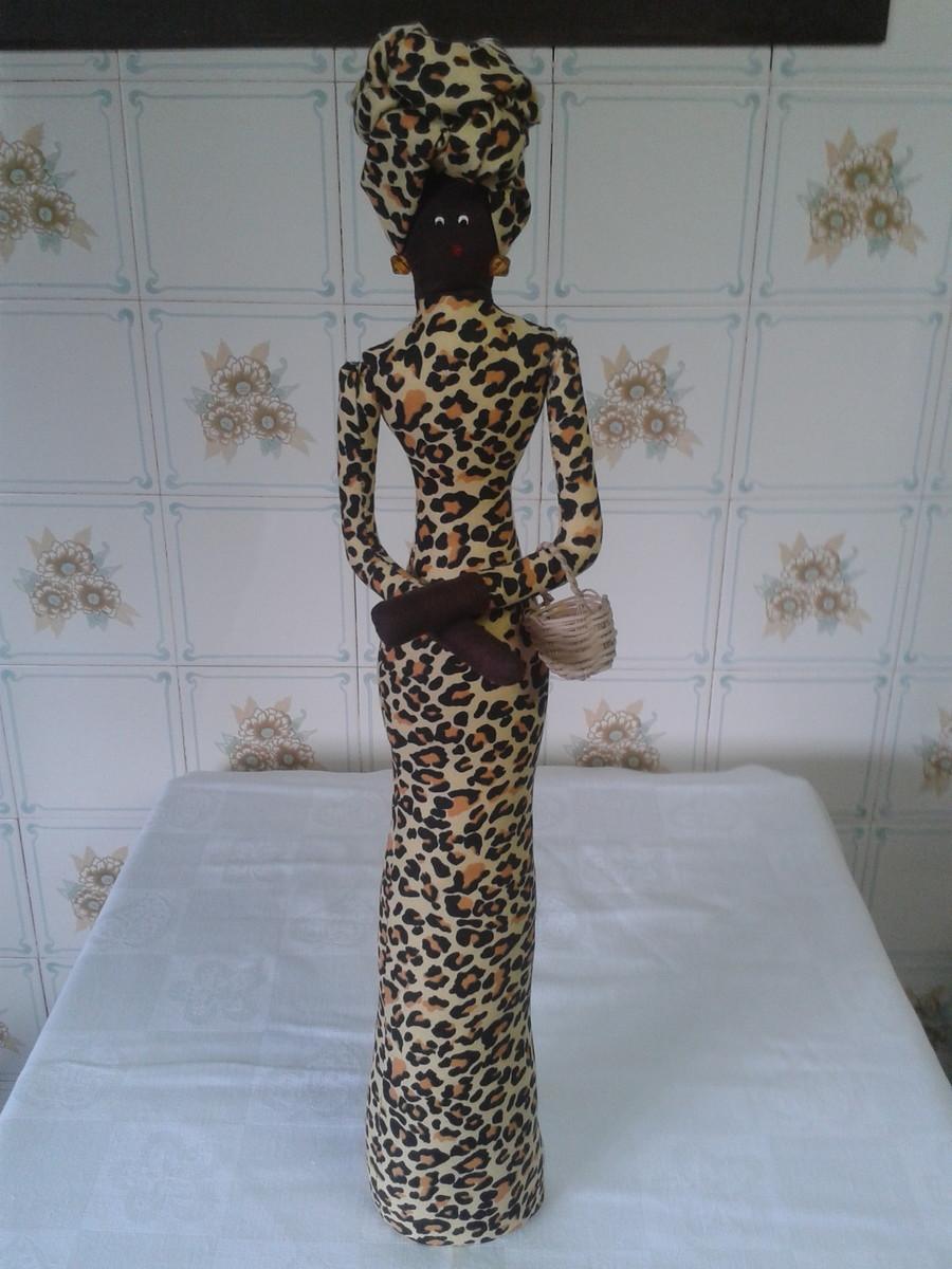 decoracao de sala longa: longa decoracao estante boneca africana vestido manga longa decoracao