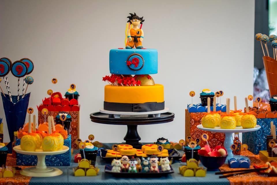 Festa dragon ball z no elo7 felicit festa 4d8d68 for Cuartos decorados de dragon ball z
