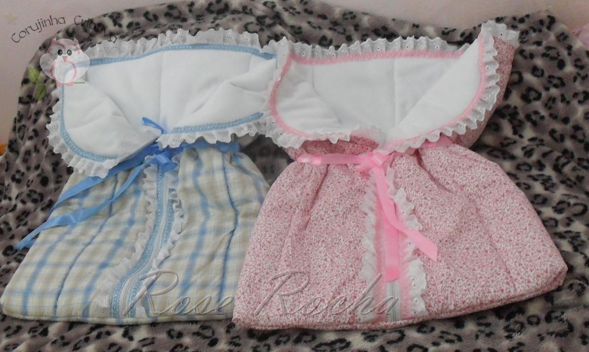 Porta beb saco de dormir para beb s ateli corujinha - Sacos para portabebes ...