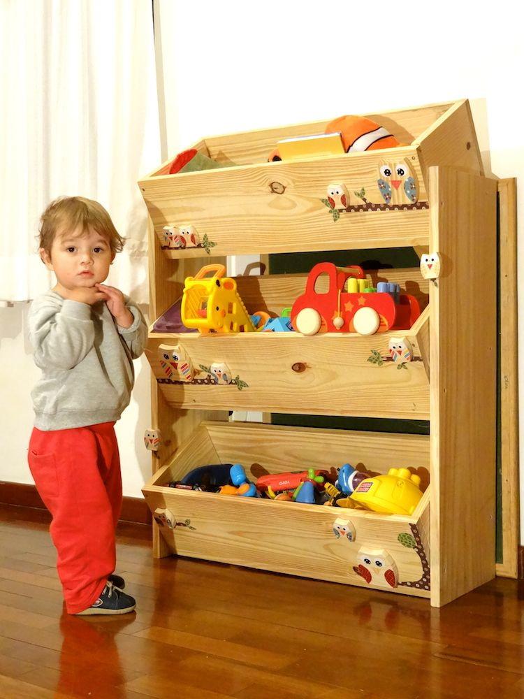 Armario Tok Stok ~ Organizador de brinquedo Kaloré Arte& Design Elo7