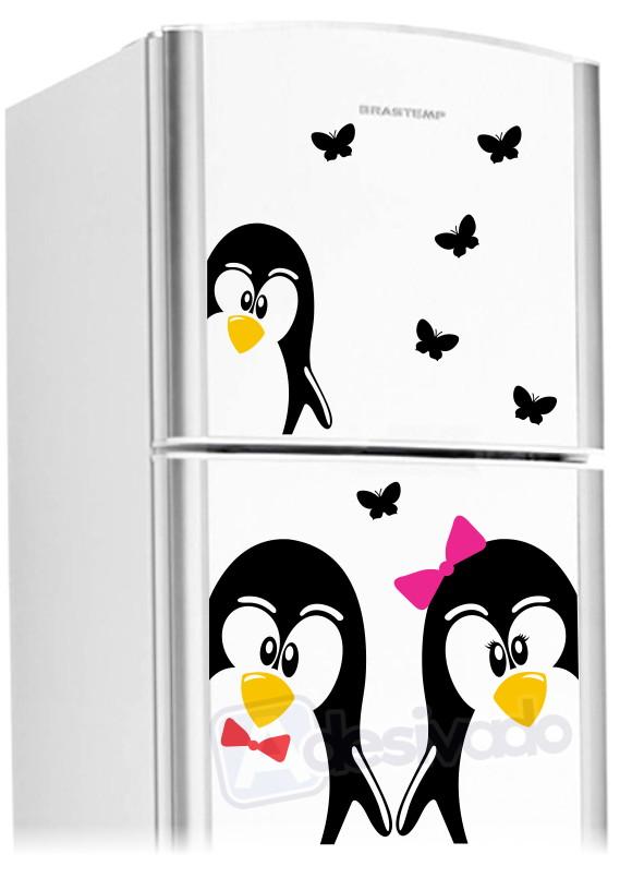 Adesivo De Olhos Para Biscuit ~ Adesivo de Geladeira Casal Pinguim no Elo7 Iglu (4F1B02)