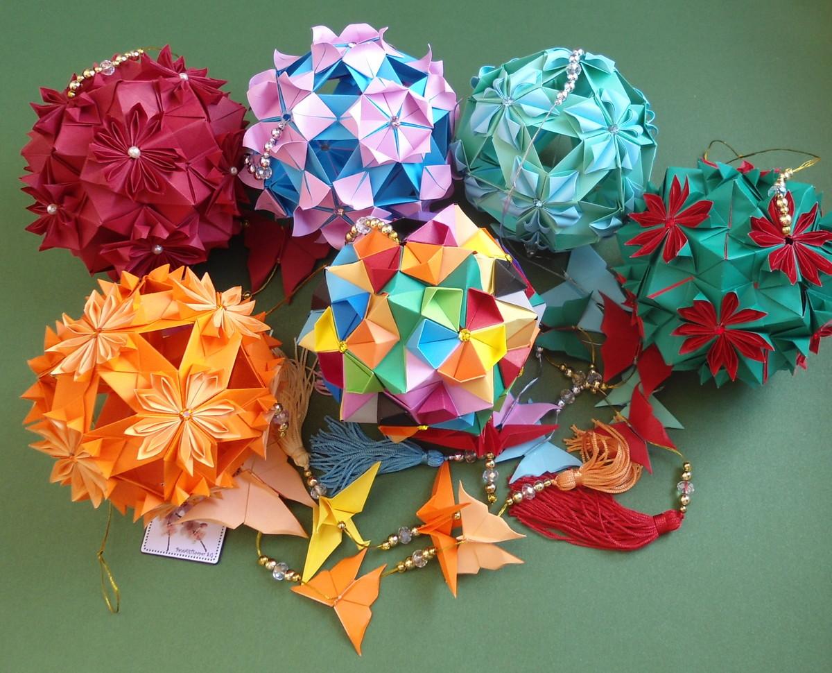Origami kusudama new 954 kusudama origami loja de vidro origami cacos de mobiles loja vidro de kusudama origami kusudama enfeites kusudama jeuxipadfo Gallery