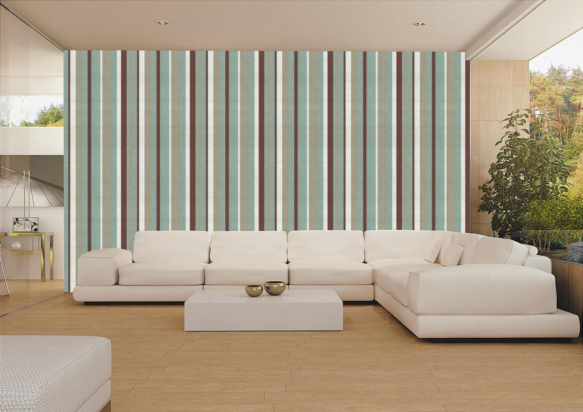 Papel de parede listras decor 05 crie decore elo7 for Papel para paredes salon