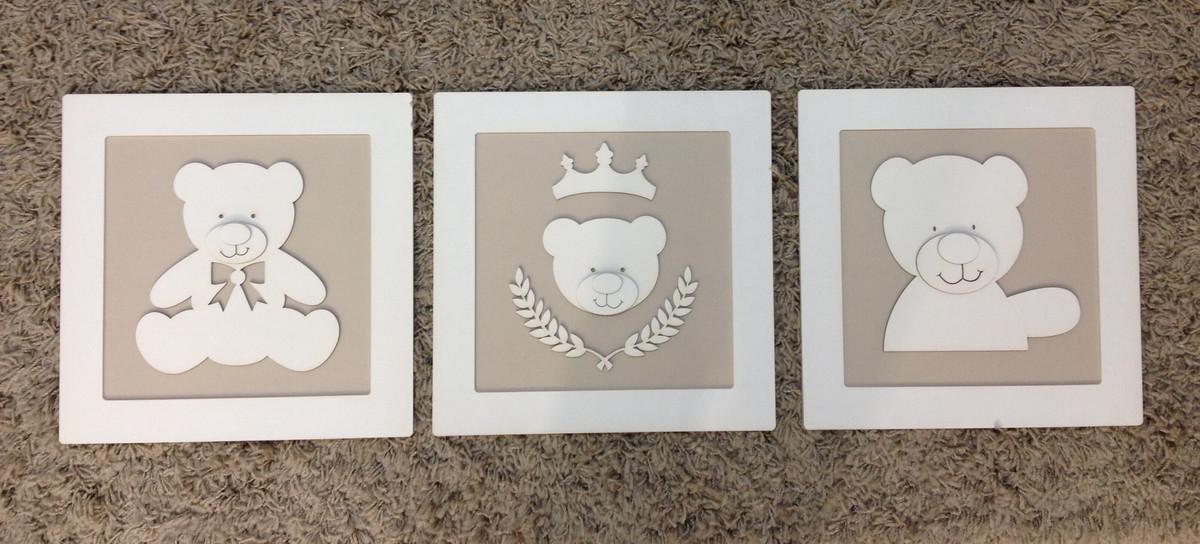 Quadro De Urso Para Quarto De Bebe ~  de ursos para quarto de bebe decoracao de ursos p quarto de bebe