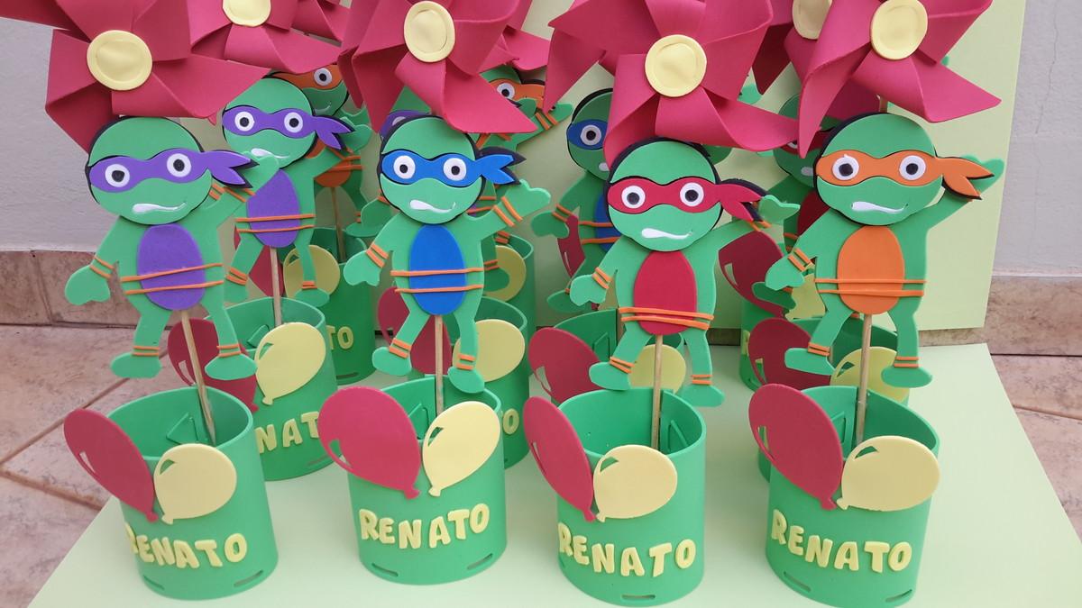 Festa Tartarugas Ninjas - Decoração de Festa Tartaruga Ninja