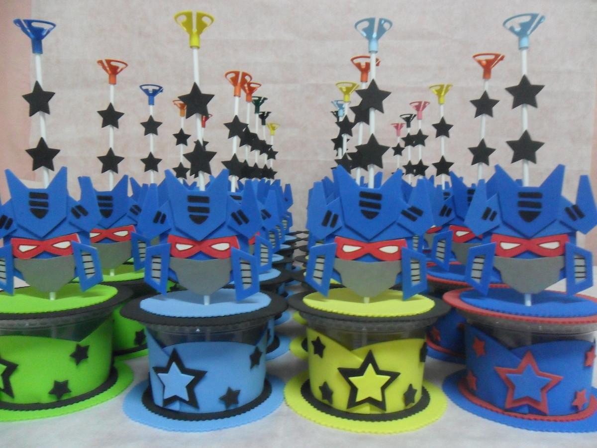 Festa Infantil Transformers Decoração De Festa Infantil Transformer