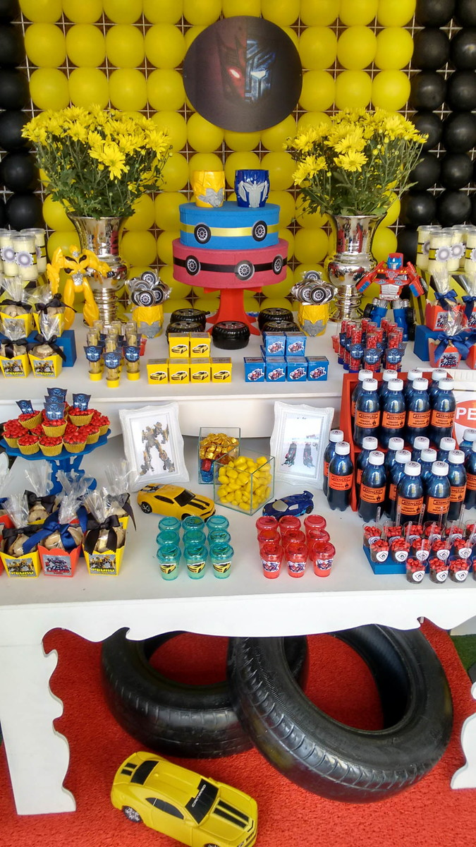 Decoracao Festa Infantil Transformers Rescue Bots