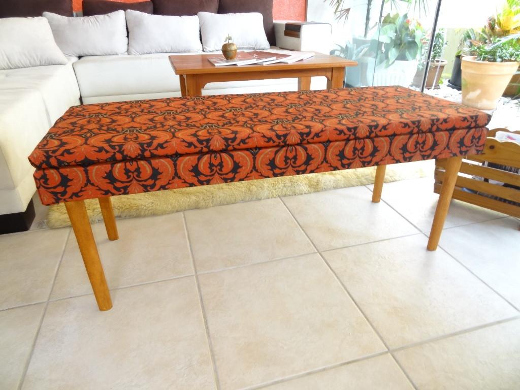 banco estofado estilo indiano bancos em madeira #AC441F 1024x768
