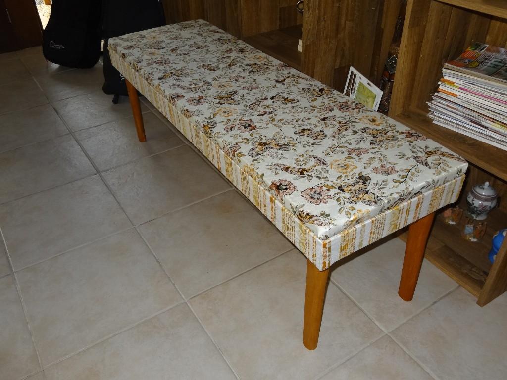 banco de madeira banco estofado estilo floral bancos de madeira para  #193B71 1024x768