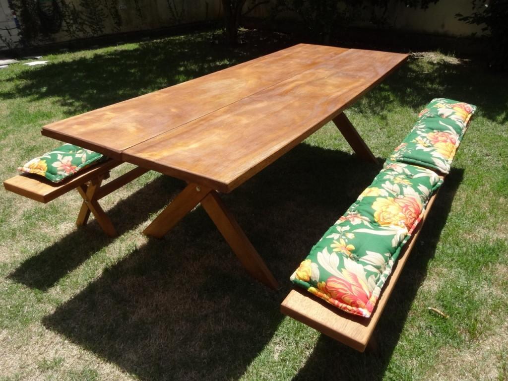 #9D6F2E mesa rustica em madeiras macicas mesas rusticas para churrasco 1024x768 px como fazer mesa de madeira que vira banco @ bernauer.info Móveis Antigos Novos E Usados Online