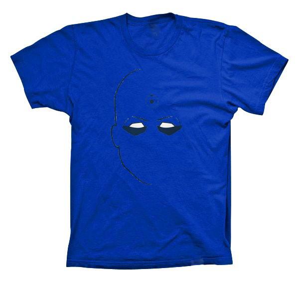Dr manhattans pene azul
